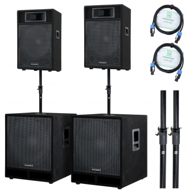 McGrey Stage-4200 PA-systeem 4200 Watt