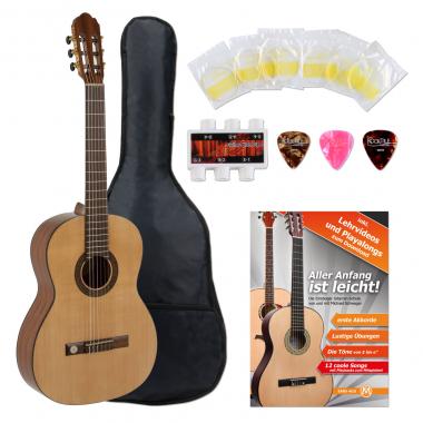 VGS Pro Arte GC-130 A Konzertgitarre 4/4 Starter Set