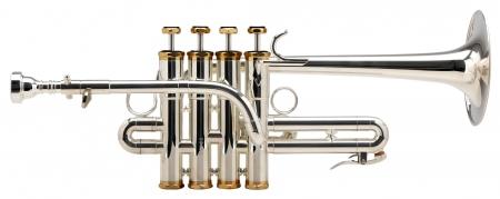 Classic Cantabile PT-910S Piccolo Trumpet Lechgold Model