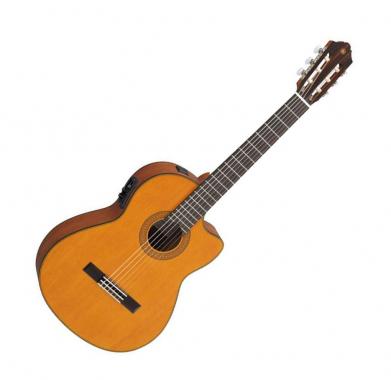 Yamaha CGX122MCC Konzertgitarre, Zeder