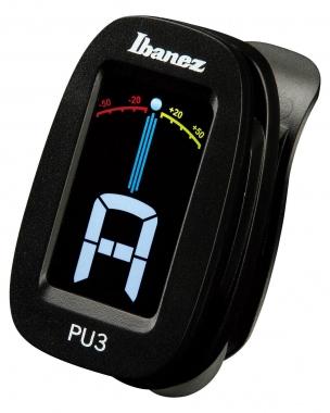 Ibanez PU3-BK Clip Auto Tuner