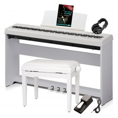 Kawai ES-110 W Stagepiano weiß Deluxe SET + Ständer+ Pedaleinheit+ Kopfhörer+ Bank+ Noten
