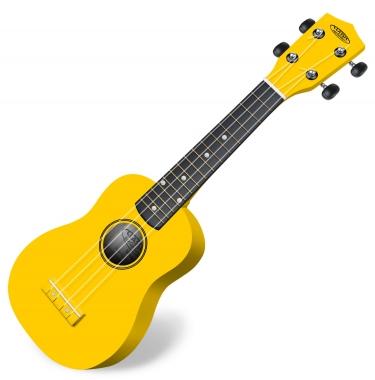 Classic Cantabile US-100 YE Sopraan Ukelele, geel