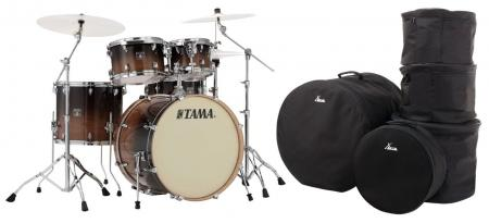 Tama CL50R-CFF Superstar Classic Shellset Coffee Fade Set mit Taschen