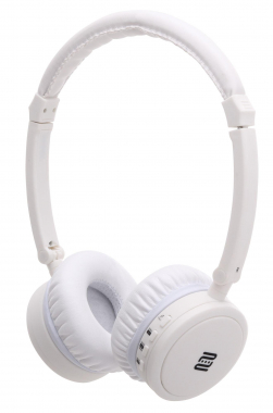 Pronomic OYK-800BTW Auriculares Bluetooth en blanco