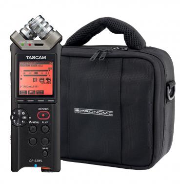 Tascam DR-22WL SET inkl. Tasche