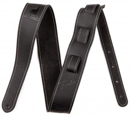 Fender Strap Monogram Leather BLK