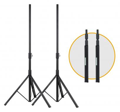 Pronomic SPSF-10S Boxenstativ Stahl 170cm 2x Set