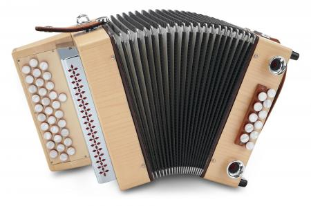 "Alpenklang Harmonika ""Mini"" C-F-B Ahorn"