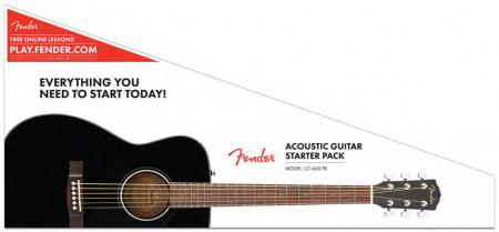Fender CC-60S Concert Pack BLK