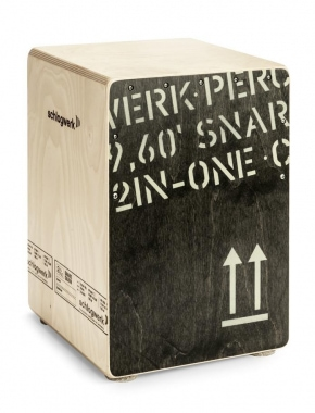 Schlagwerk CP403BLK Cajon 2inOne Black Edition - Medium