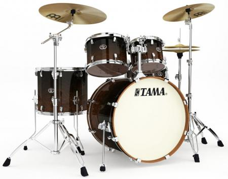 Tama VL52-DMF Silverstar Custom Drumkit Dark Mocha Fade