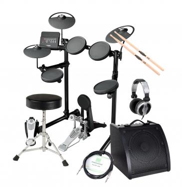 Yamaha DTX430K Compact E-Drum SET inkl. Verstärker + Kopfhörer + Drumhocker + Sticks