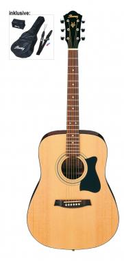 Ibanez V 50 NJP-NT akoestische gitaar  Jam Pack (naturel)