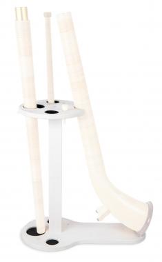 Lechgold Alphornständer Weiß