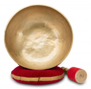 XDrum Omshanti Singing Bowl 39 cm Complete Set