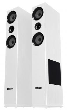 Bennett & Ross Stratosphere MKII HiFi Tower Speaker Pair – White 2 x 150W RMS