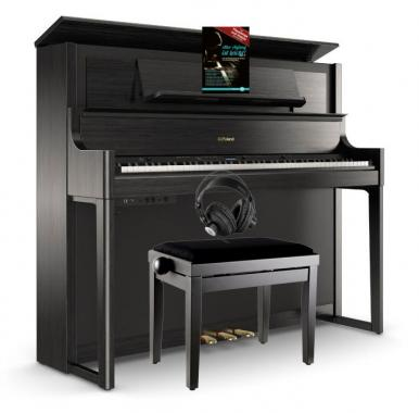 Roland LX708-CH Digitalpiano Set Anthrazit