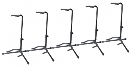 5-Piece SET Rocktile GSN-01 Guitar Stands with Neck Support