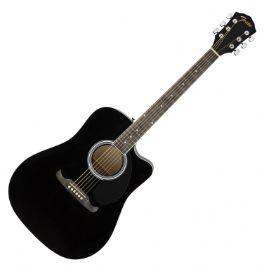Fender FA-125CE Dreadnought WN BLK
