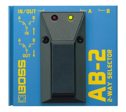 Boss AB-2 A/B Selector  - Retoure (Zustand: sehr gut)