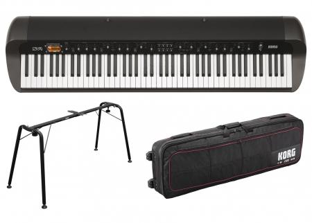 Korg SV1 88 Piano SET, schwarz