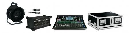 Allen & Heath SQ6 Digital Mischpult DX168/X Set mit Case