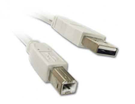 Kirstein USB 2.0 Kabel A zu B (1,8 m)