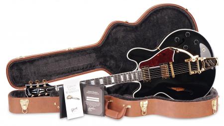 Gibson ES-355 Ebony Gloss Bigsby 2016