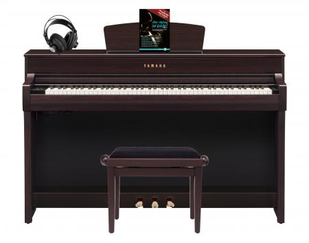 Yamaha CLP-735 R Digitalpiano Set Rosenholz