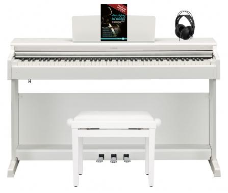Yamaha YDP-164 WH Arius E-Piano Set Weiß matt