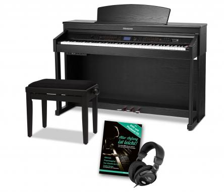 Steinmayer DP-380 SM Digital Piano Black Matte SET