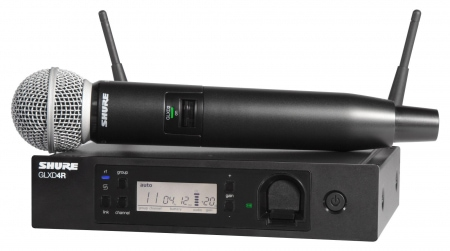 Shure GLXD24R/B58A Digital Vocal Funksystem