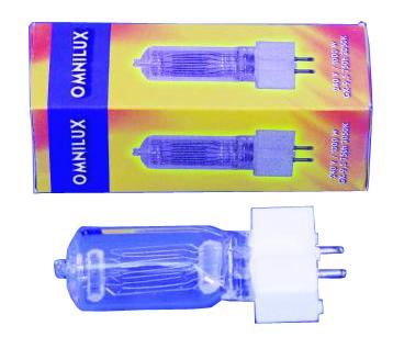 Omnilux GX-9,5 240V/650W Lampe