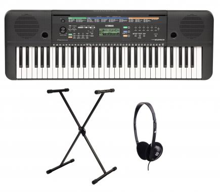 Yamaha PSR E253 Keyboard SET inkl. Ständer und Kopfhörer