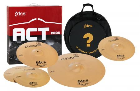 "MES Act Series Bekken Performance set plus 14""  Crash (14"" HH, 14"" + 16"" Crash, 20"" Ride)"