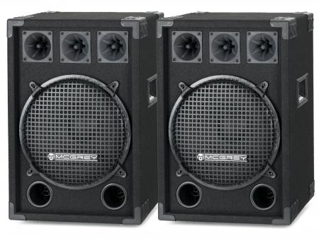 McGrey DJ-1222 Party room / DJ Box pair 2 x 600W