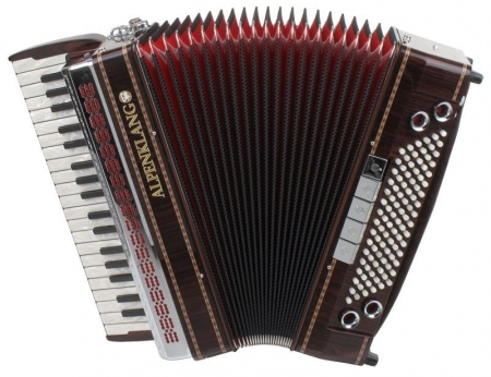 Alpenklang Pro Accordion IV/96 MHR, Rosewood