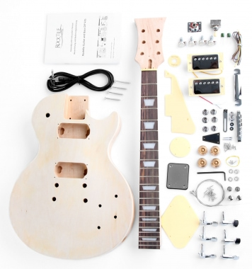 Rocktile Electric Guitar Kit fai da te Single Cut-Style