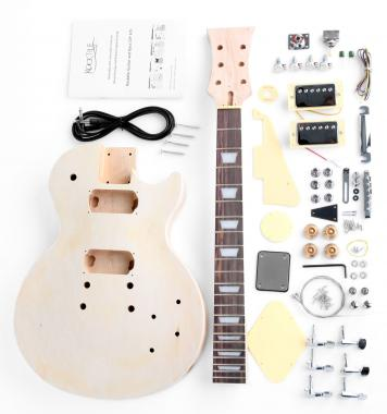 Rocktile Guitare electrique kit Single Cut Style
