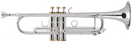 Lechgold TR-16S Bb-Trompete versilbert  - Retoure (Zustand: sehr gut)