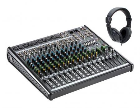 Mackie ProFX16v2 Mischpult mit Kopfhörer Set