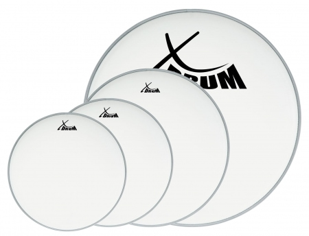 "XDrum Session gecoat drumvel set, 12"" 13"" 16"" 22"""