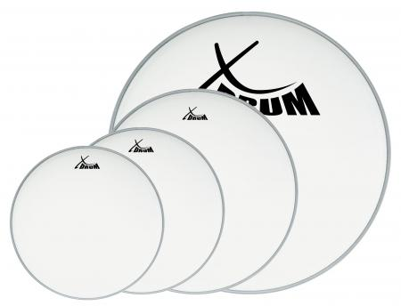 "XDrum Session Coated Set des peaux pour batterie, 12"" 13 16"" 22"