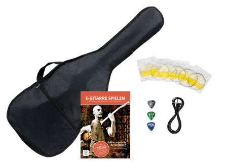 Classic Cantabile accessory set for electric guitar
