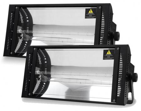 2 x Showlite LS-1500DMX 1500W Dimmer Stroboskop Set