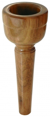 Lechgold MUN25 Walnut Alphorn Mouthpiece 25 mm