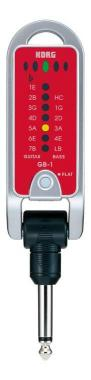 Korg GB-1 PitchJack Red