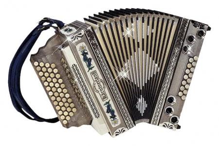 Kärntnerland Bergkristall Harmonika 4/III B-Es-As-Des