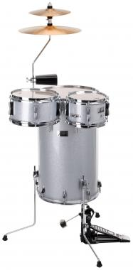 XDrum Club SP Percussion Kit Silver Sparkle